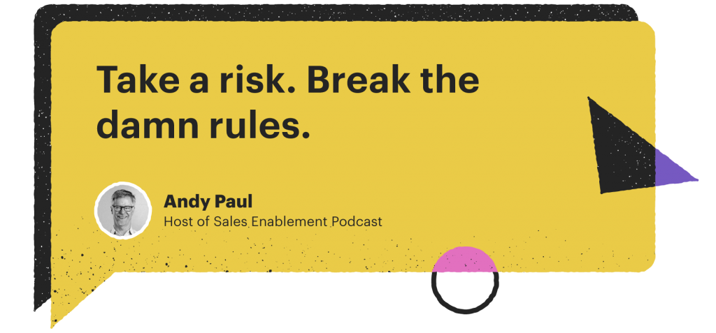 Andy Paul's quote