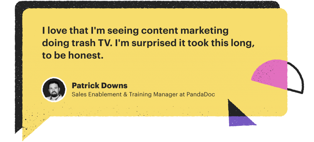 Patrick Downs' quote