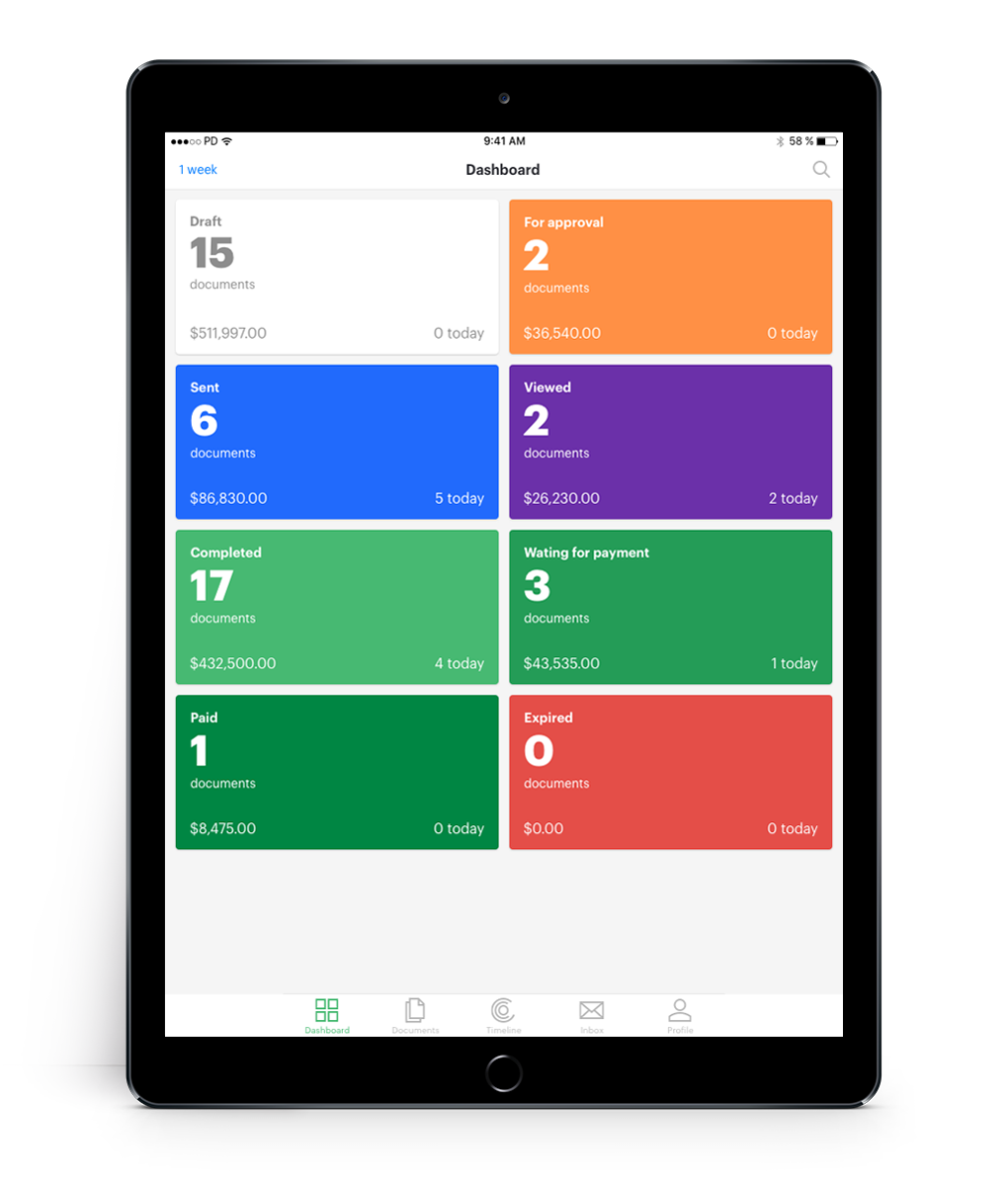 Mobile-app-available-for-iPad-Android-tablet-PandaDoc