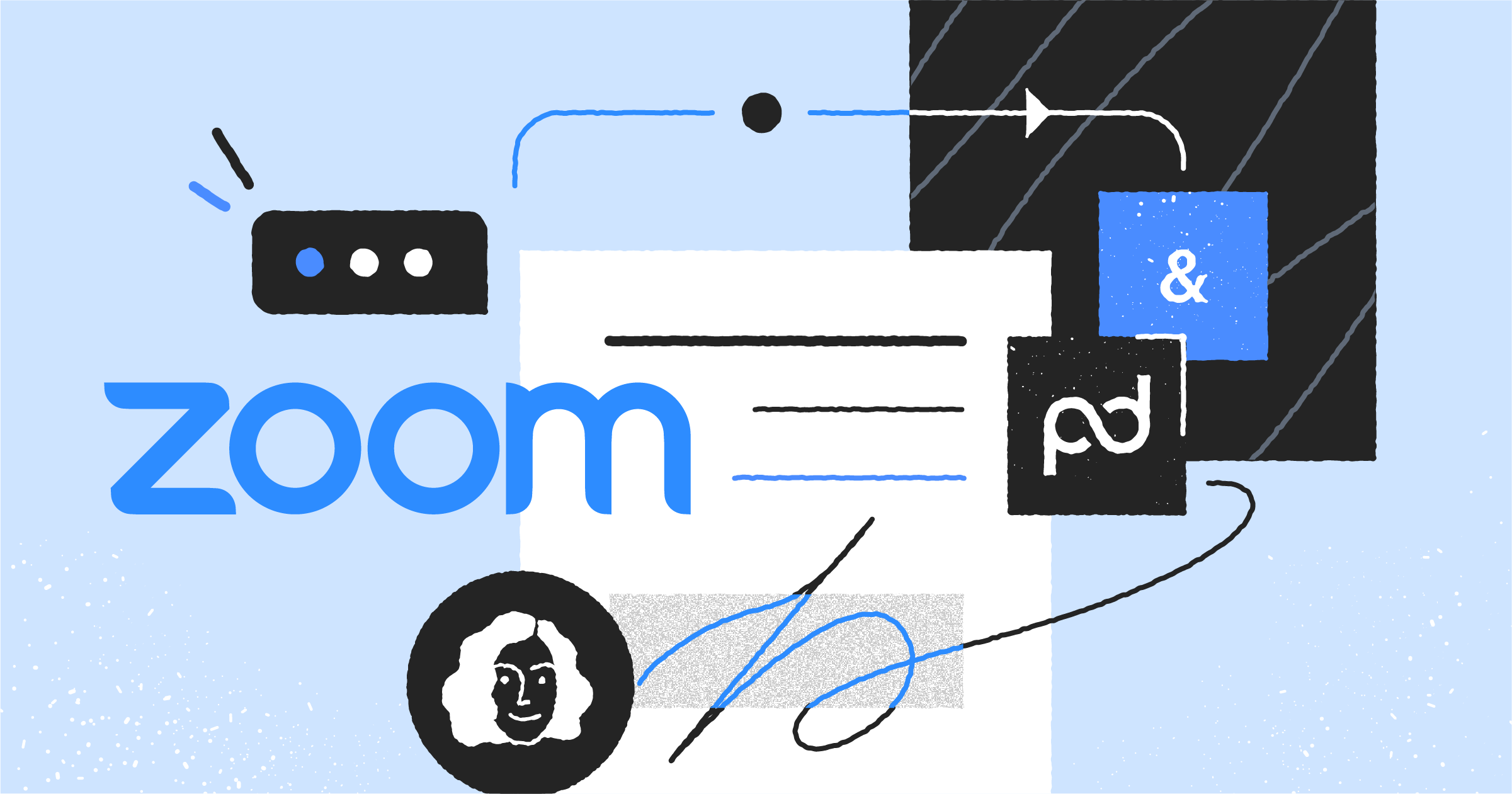 Bring the offline experience online with PandaDoc for Zoom
