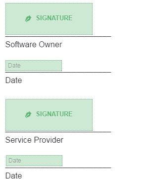 Software Maintenance Agreement Template